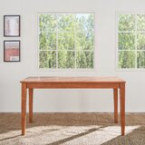 Rhiannan Rubberwood Solid Wood Dining Table