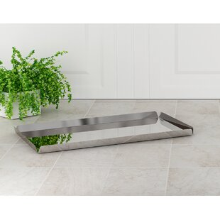 Keenum Gloss Silver Amenity Tray