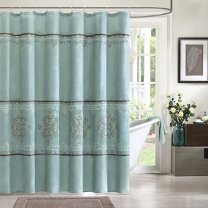 Blue Shower Curtains You\'ll Love