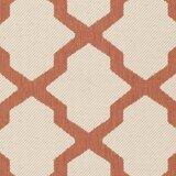 Larson Beige/Terracotta Indoor/Outdoor Area Rug