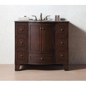 Contemporary Bathroom Vanities 36 Inch 36 to 40 inch bathroom vanities you'll love | wayfair