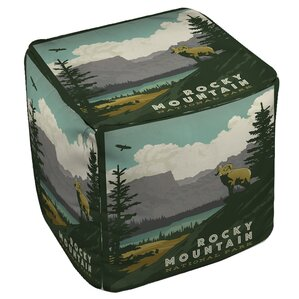 Rocky Mountain National Park Ottoman by Manual Woodworkers & Weavers