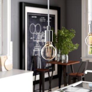 Williston Forge Carlee 1-Light Bulb Pendant