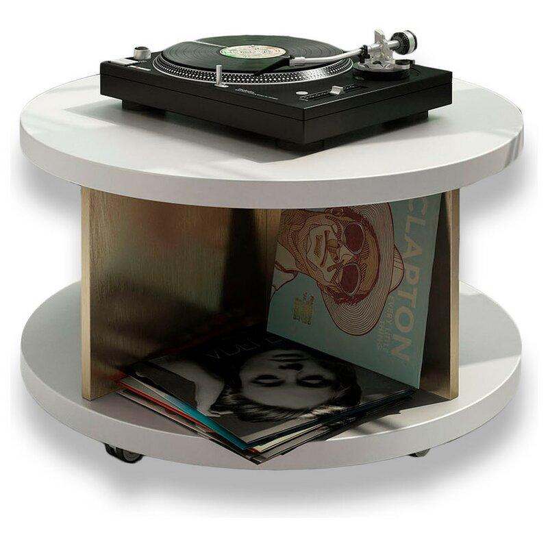 Laivai Vinyl Record Accent Cabinet