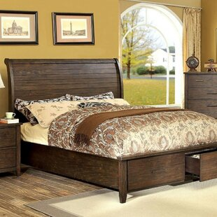 Sussex Transitional Platform Bed by Loon Peak Comparison