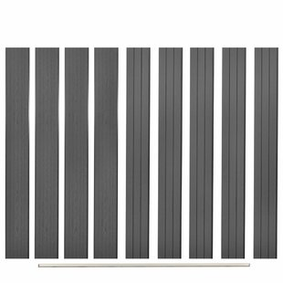 Boyadjis 10 Piece Replacement WPC Fence Board Set By Sol 72 Outdoor