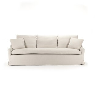 Read Reviews Rich Box Cushion Sofa Slipcover by Zentique Reviews (2019) & Buyer's Guide