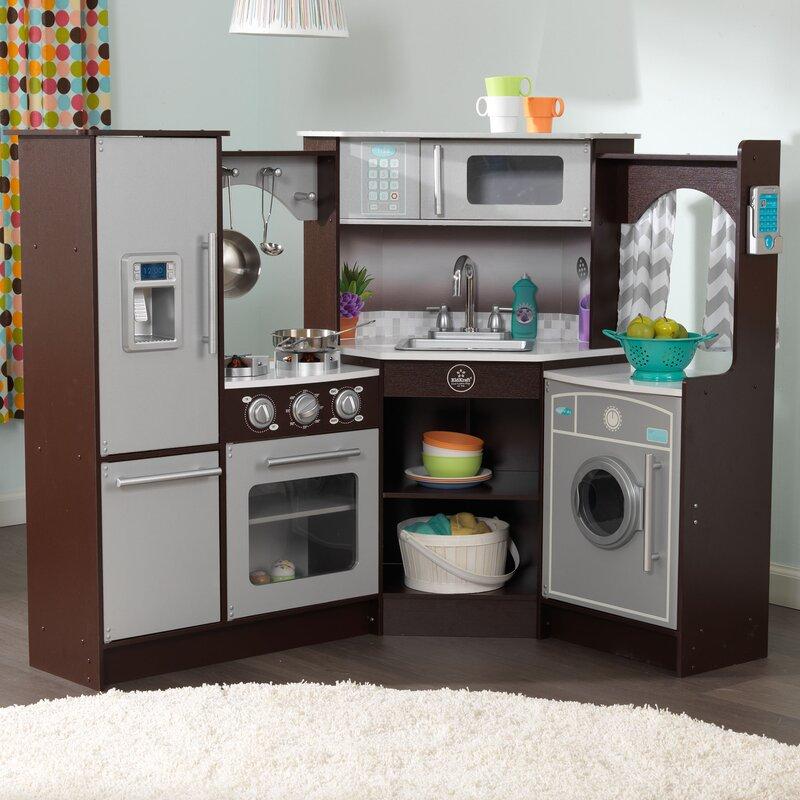 Spielzeugküche mit Licht Spielküchen und Soundeffekten Kinderküche ...