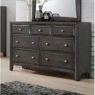 Wrought Studio Anja 7 Drawer Double Dresser