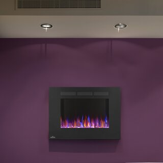 Allure Recessed Wall Mounted Electric Fireplace by Napoleon SKU:CC808043 Order