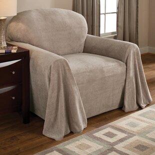 Coral Box Cushion Armchair Slipcover