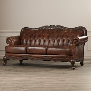 Darby Home Co Smith Leather Sofa