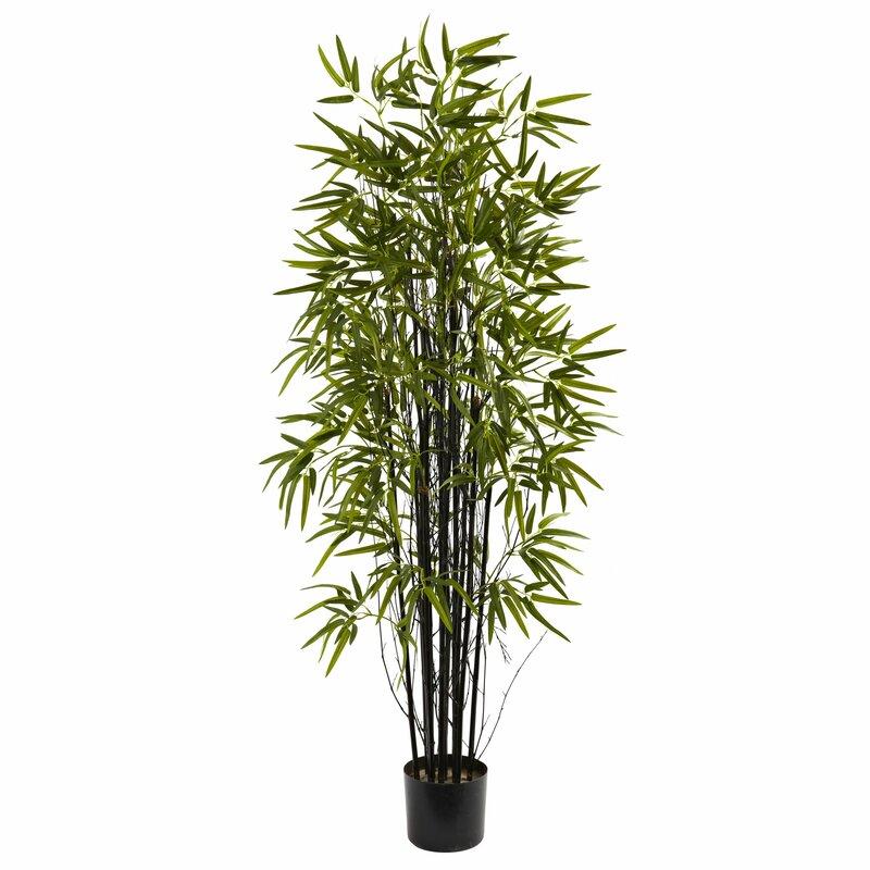 Bungalow Rose Artificial Bamboo Tree In Pot Reviews Wayfair