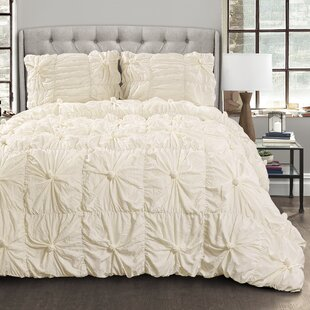 Rue 3 Piece Comforter Set by Rosdorf Park