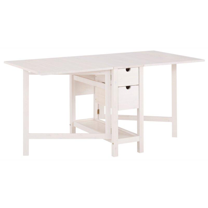17 Stories Marva Folding Dining Table Wayfair Co Uk