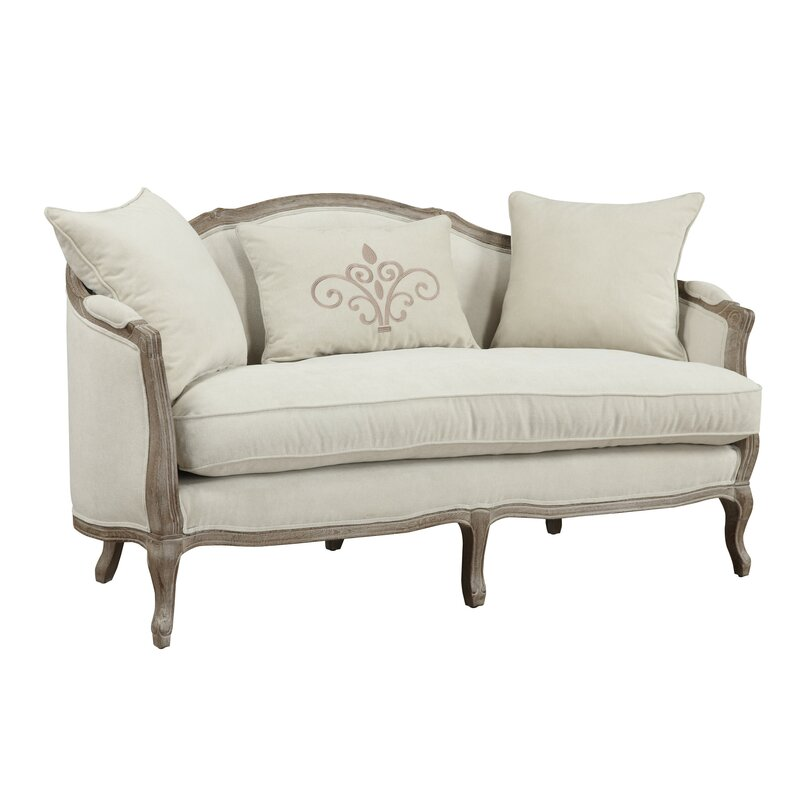 """65"""" Standard Settee with Reversible Cushions"""