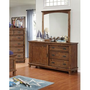Best Price Ervine 3 Drawer Combo Dresser wIth Mirror by Loon Peak Reviews (2019) & Buyer's Guide