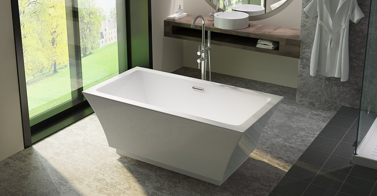 package oval all bath bathtub pure freestanding shower a kit tub inch one una acrylic in and e wyndham vintage
