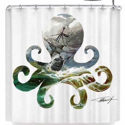 East Urban Home Ivan Joh Octopus Shower Curtain