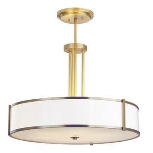 ILEX Lighting Hatbox Round Pendant