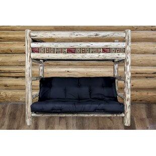 Tustin Bunk Bed 44 Solid Pattern Cotton Twin Futon Mattress