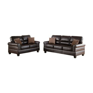 Compare prices Lackey 2 Piece Living Room Set by Alcott Hill Reviews (2019) & Buyer's Guide
