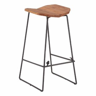 Saba 75cm Bar Stool By World Menagerie