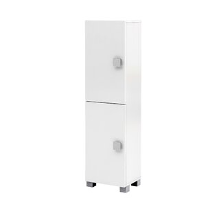 Cuthbert 30 X 113cm Free-Standing Tall Bathroom Cabinet By Rebrilliant