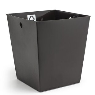 room360°byFOH® Flare Liner Plastic 3.5 Gallon Recycling Bin (Set of 4)