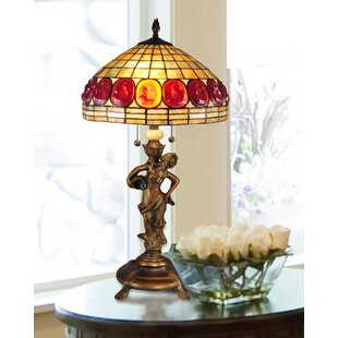 Riordan Turtleback Rose 31 Table Lamp