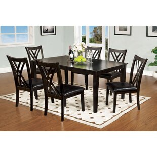 Karn 7 Piece Dining Set Alcott Hill