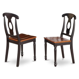 Aimee Wood Dining Chair (Set of 2) by August Grove