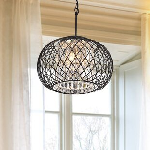 Everly Quinn Aichele 3-Light Pendant