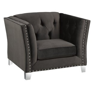 Shept Mallet Armchair by Everly Quinn