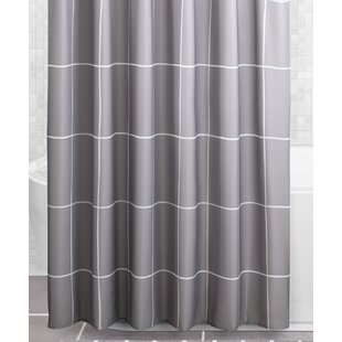 Gray Silver Red Shower Curtains Youll Love