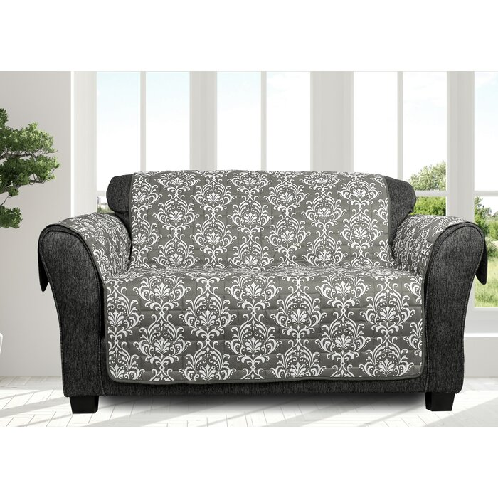 Astounding Ardie Box Cushion Loveseat Slipcover Pabps2019 Chair Design Images Pabps2019Com