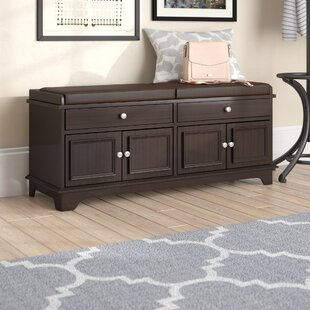 Charlton Home Penbrook Wood Storage Bench