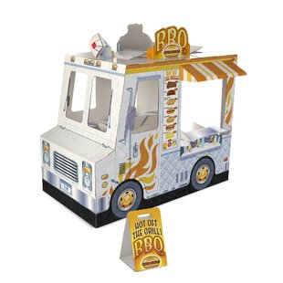 Food Truck 4' x 3.83' Playhouse by Melissa & Doug