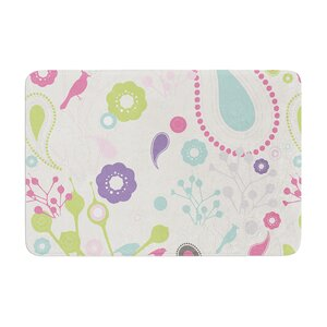 Nicole Ketchum Bird Song Memory Foam Bath Rug