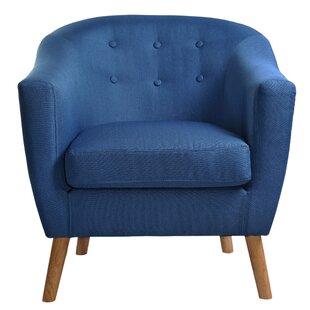 Best Eye Barrel Chair ByWrought Studio