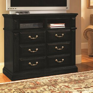 Affordable Newark 6 Drawer Media Chest by Fleur De Lis Living
