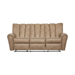 Shop Currahee Upholstery Reclining Sofa by Red Barrel Studio