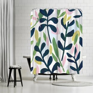 PI Creative Art Into The Forest Ii Single Shower Curtain
