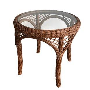 Elkin Resin Wicker Side Table by August Grove Best Design
