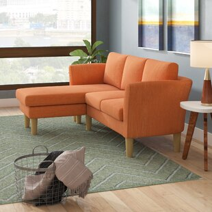 Callicles Living Room Reversible Sectional with Ottoman by Ivy Bronx