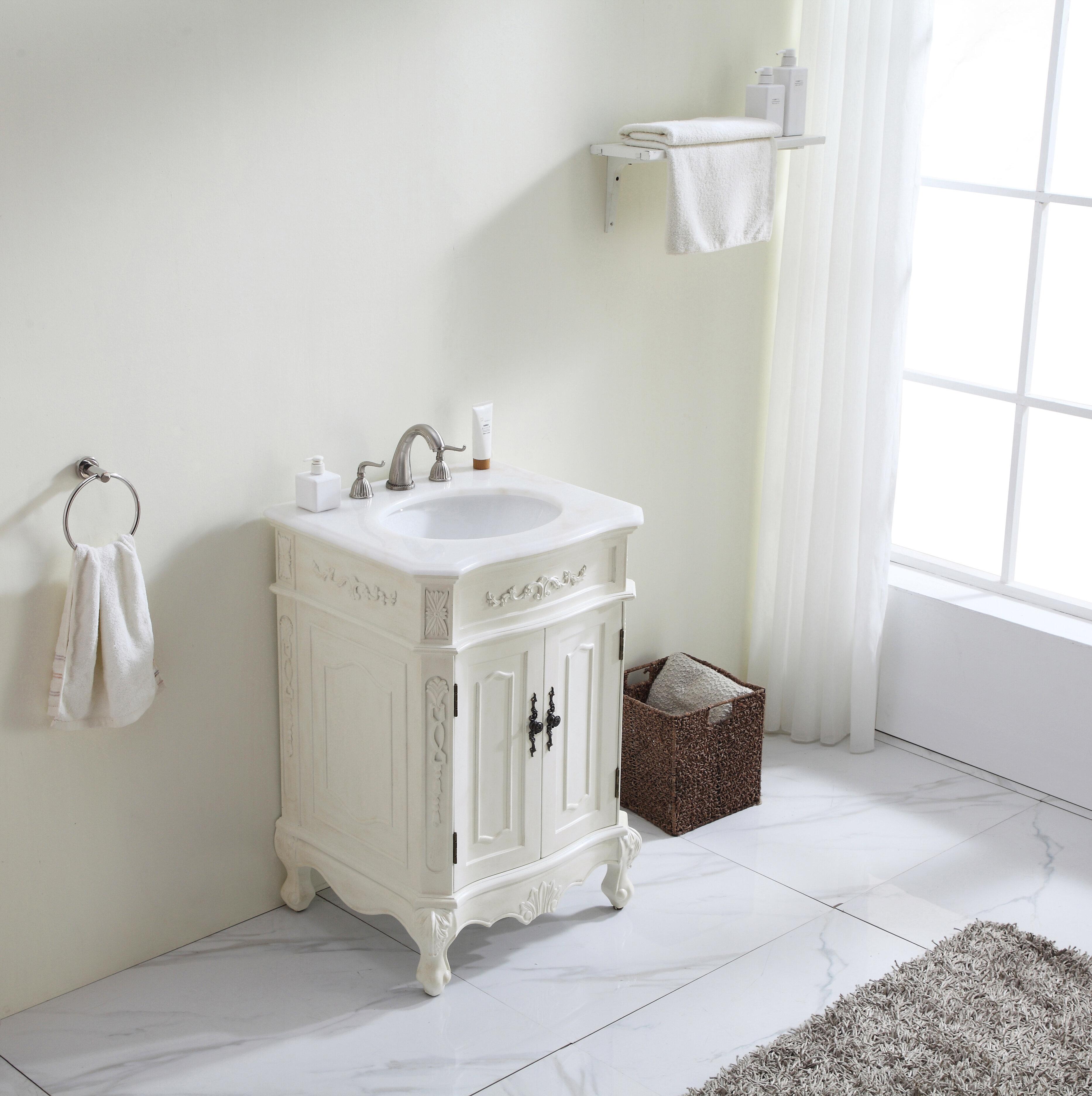 Ambudkar 24 Single Bathroom Vanity Set