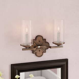 Reviews Ashburn 2-Light Vanity Light By Laurel Foundry Modern Farmhouse