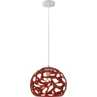 Ebern Designs Mcglothin 1-Light Novelty Pendant