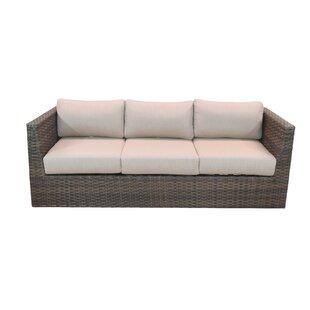 Cribbs Patio Sofa with Sunbrella Cushions