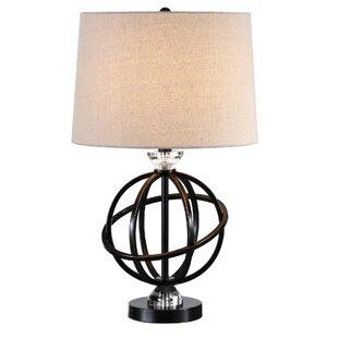 Augie Metal Orb 25 Table Lamp